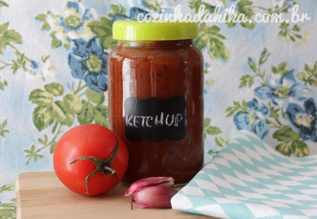 Receita de ketchup caseiro