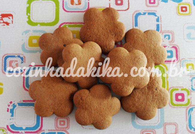 Receita de Biscoitos de Gengibre