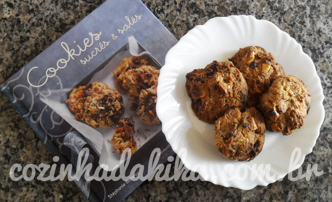 Receita de Cookies de Irish Cream com Chocolate