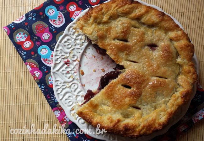 Receita de Torta de Cerejas
