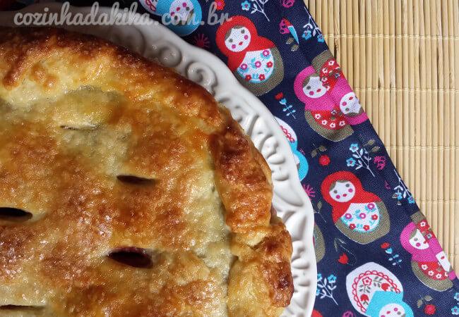 Receita de Torta de Cereja