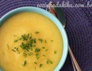 Receita de Sopa Creme de Mandioquinha